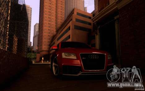 Audi RS5 para visión interna GTA San Andreas