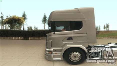 Scania V8 para GTA San Andreas left