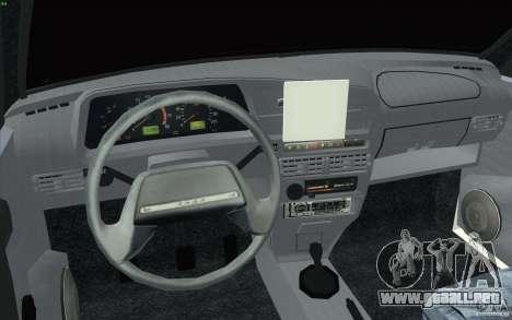 Vaz-2114 para la visión correcta GTA San Andreas