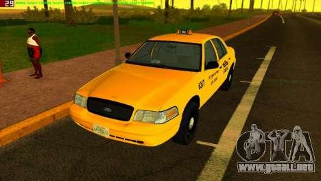 Ford Crown Victoria Taxi 2003 para GTA Vice City