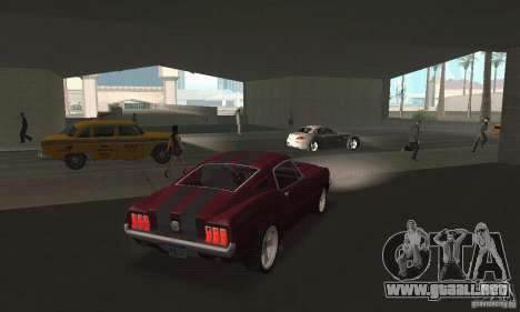 Ford Mustang 1968 para GTA San Andreas left
