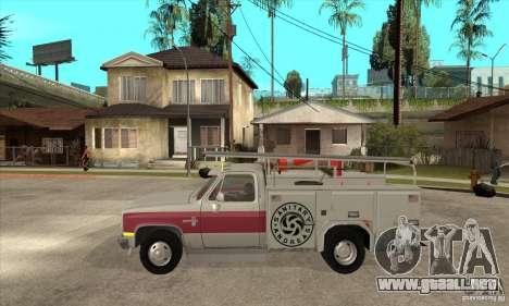 Chevrolet Silverado - utility para GTA San Andreas left