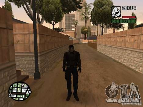 Actualizado Pak personajes de Resident Evil 4 para GTA San Andreas segunda pantalla