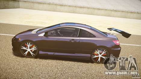 Honda Civic Si Tuning para GTA 4 left