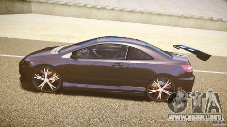 Honda Civic Si Tuning para GTA 4 left