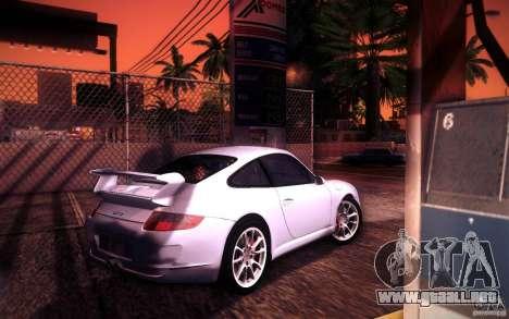 Porsche 911 GT3 (997) 2007 para la vista superior GTA San Andreas