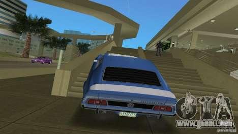 Ford Mustang 1973 para GTA Vice City visión correcta