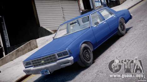 Chevrolet Impala 1983 [Final] para GTA 4