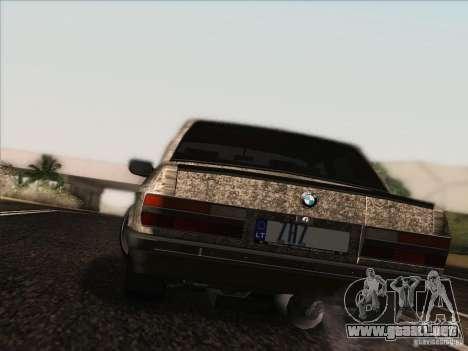 BMW E28 525E RatStyle para visión interna GTA San Andreas
