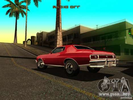 Ford Gran Torino 1975 para GTA San Andreas left