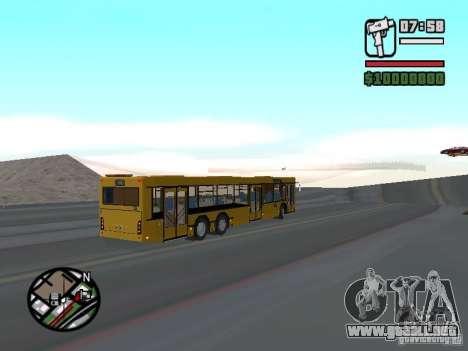 MAZ 107.466 para GTA San Andreas left