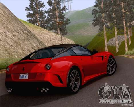 ENBSeries by ibilnaz v 3.0 para GTA San Andreas sucesivamente de pantalla