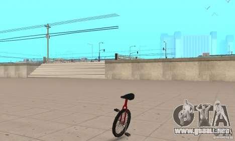 Unicycle para GTA San Andreas