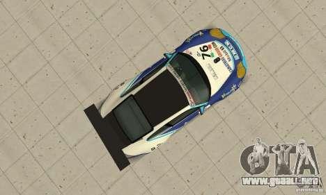 Porsche 911 Le GRID para la visión correcta GTA San Andreas