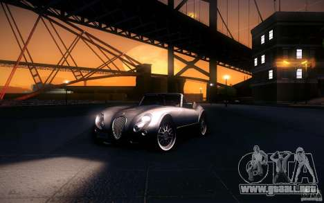 Wiesmann MF3 Roadster para vista inferior GTA San Andreas
