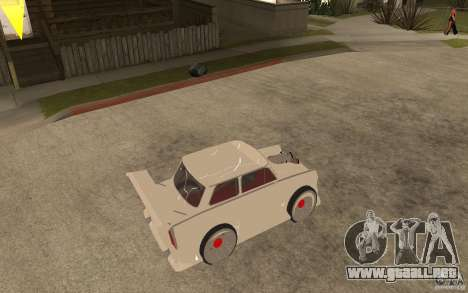 Trabant 601 Hardcore Tuning para la visión correcta GTA San Andreas