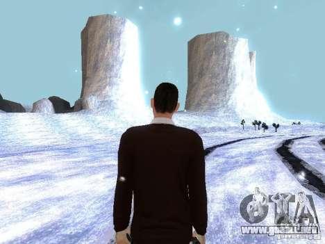 Snow MOD HQ V2.0 para GTA San Andreas segunda pantalla