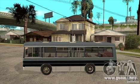 LAZ-4202 para GTA San Andreas left