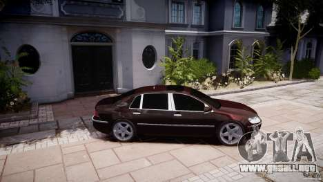 Volkswagen Phaeton W12 Long para GTA 4 left