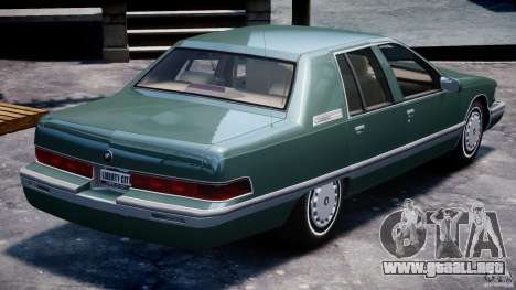 Buick Roadmaster Sedan 1996 v1.0 para GTA motor 4