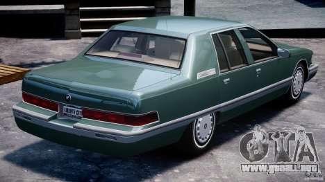 Buick Roadmaster Sedan 1996 v1.0 para GTA motor 4