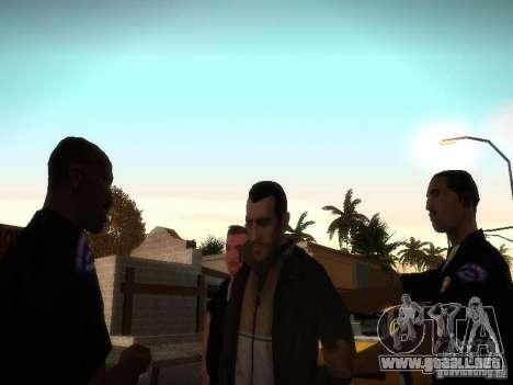 Niko Bellis nuevas historias para GTA San Andreas tercera pantalla
