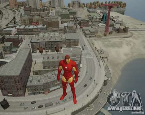 Iron Man Mk3 Suit para GTA 4 séptima pantalla
