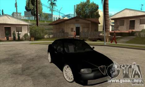 Alfa Romeo 156 Light Tune para GTA San Andreas vista hacia atrás
