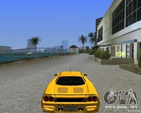Saleen S7 para GTA Vice City vista lateral izquierdo