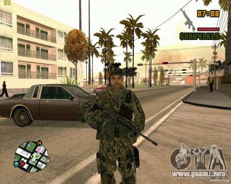 Nuevos soldados para GTA San Andreas