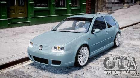 Volkswagen Golf IV R32 para GTA 4 left