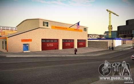 Departamento de bomberos de HD para GTA San Andreas