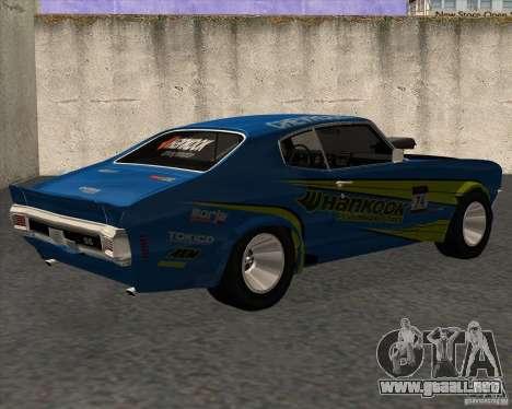Chevrolet Chevelle SS 1970 para GTA San Andreas left
