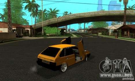 VAZ 2109 luz Tuning para GTA San Andreas left