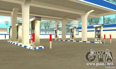 Estación de llenado de TNK para GTA San Andreas segunda pantalla