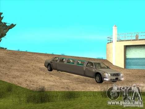 Cadillac DTS 2008 Limousine para GTA San Andreas