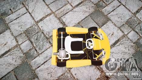 Karting para GTA 4 vista lateral