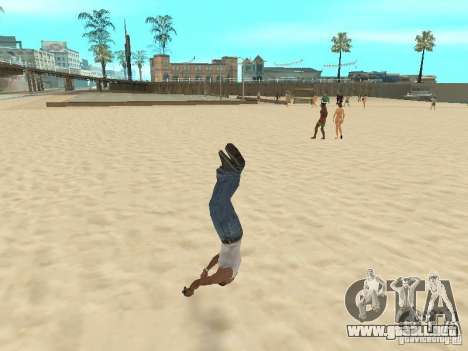Parkour 40 mod para GTA San Andreas sexta pantalla