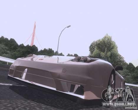 Honda NSX Japan Drift para GTA San Andreas vista posterior izquierda