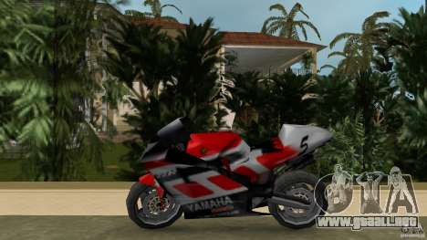 Yamaha YZR 500 V1.2 para GTA Vice City left
