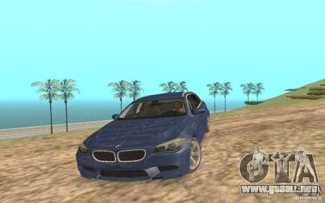 BMW M5 F11 Touring para el motor de GTA San Andreas