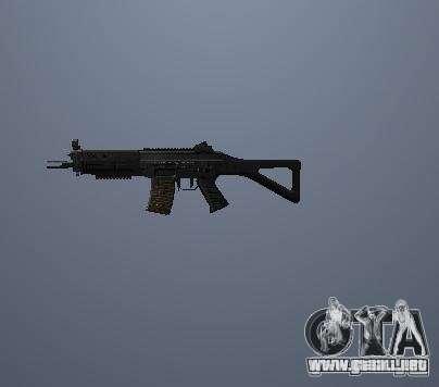 Pak altas armas poligonales para GTA San Andreas segunda pantalla
