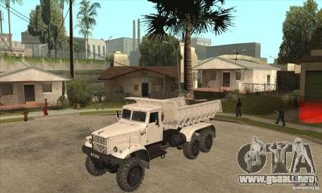 Camión KRAZ 225 para GTA San Andreas