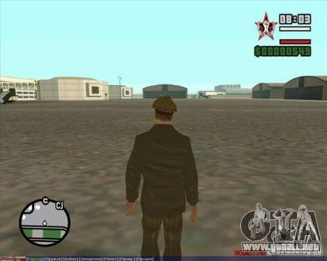 Stalin para GTA San Andreas tercera pantalla