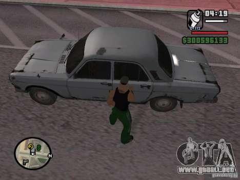 Repintado del actuador para GTA San Andreas