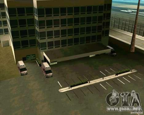 Los vehículos estacionados v2.0 para GTA San Andreas séptima pantalla