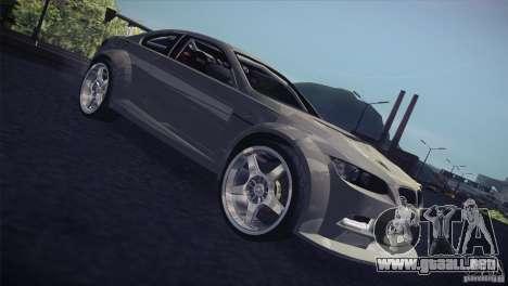 BMW M3 E92 Tuned para vista lateral GTA San Andreas
