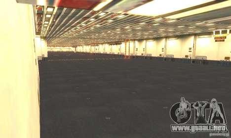CVN-68 Nimitz para GTA San Andreas quinta pantalla