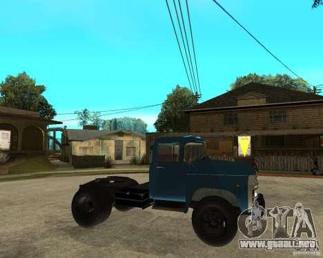 ZIL 130B1 para la visión correcta GTA San Andreas
