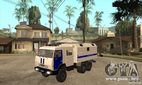 Policía Kamaz para GTA San Andreas